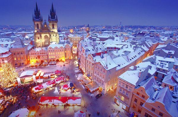 Зимние каникулы в Праге 4.1.-12.1.2020